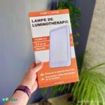 Test lampe de luminothérapie Toplife 15 000 Lux