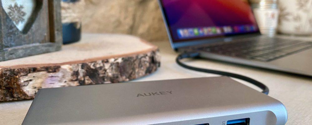 TEST AUKEY USB C Hub 10 en 1 - 3
