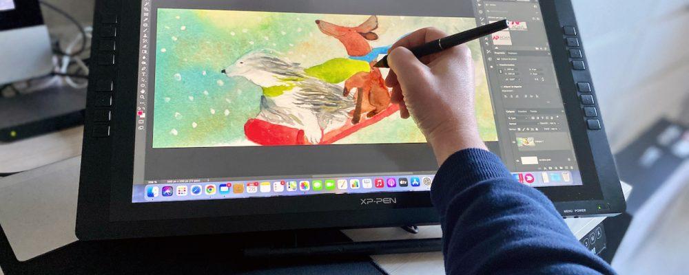 TEST Tablette graphique XP-PEN Artist 22E PRO - 10
